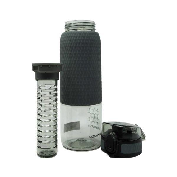 Μπουκάλι Γκρι 'Healthy Bottle' Με Defuser 500ml