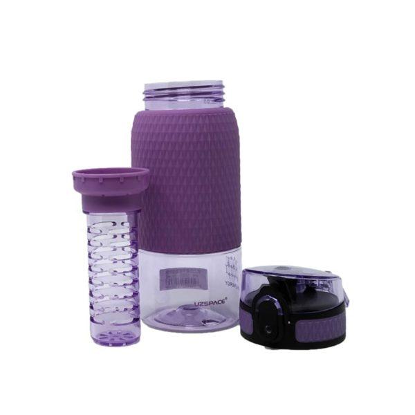 Μπουκάλι Μωβ 'Healthy Bottle' Με Defuser 350ml