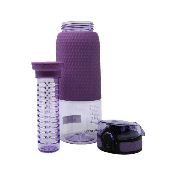 Μπουκάλι Μωβ 'Healthy Bottle' Με Defuser 500ml
