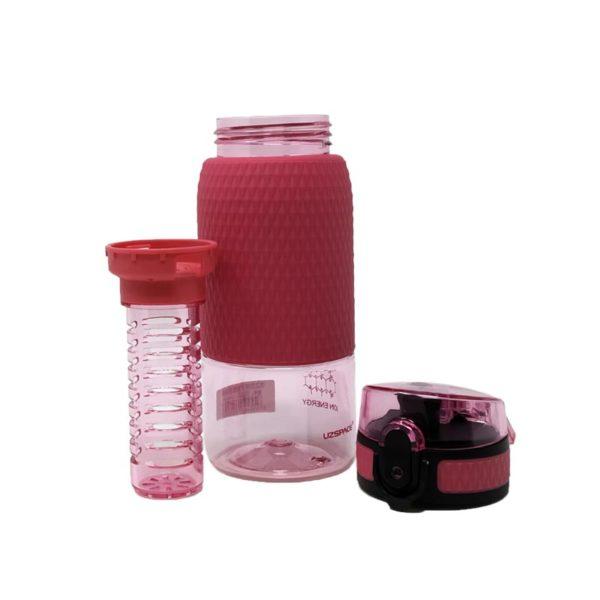 Μπουκάλι Ροζ 'Healthy Bottle' Με Defuser 350ml