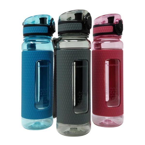 Μπουκάλι Γκρι 'Healthy Bottle' Με Σίτα 450ml