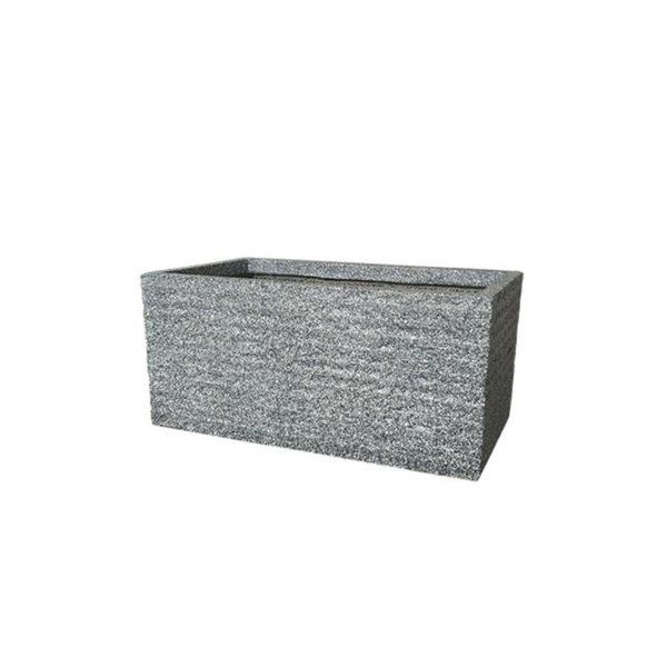 Κασπώ/ Ζαρτινέρα Fiber Clay Γκρι 48x24.5x24.5