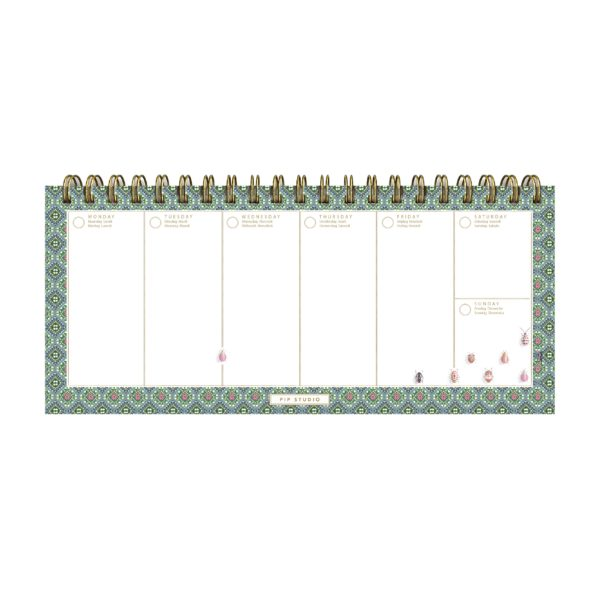 PIP Desk Planner 'Moon Delight' 31.5x23.2