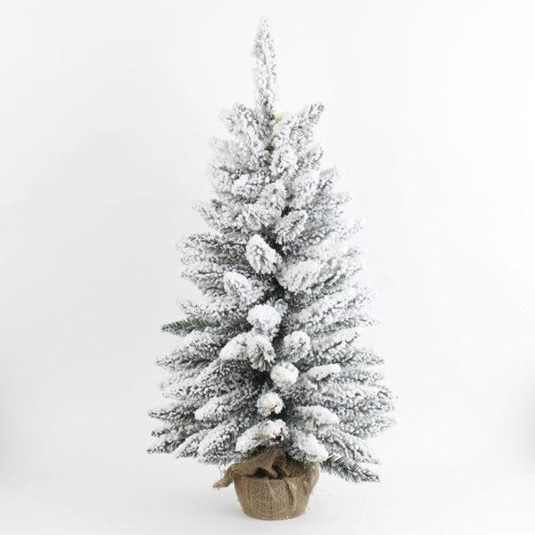 Χριστουγεννιάτικο Δέντρο Με Χιονισμένα Κλαδιά Υ90