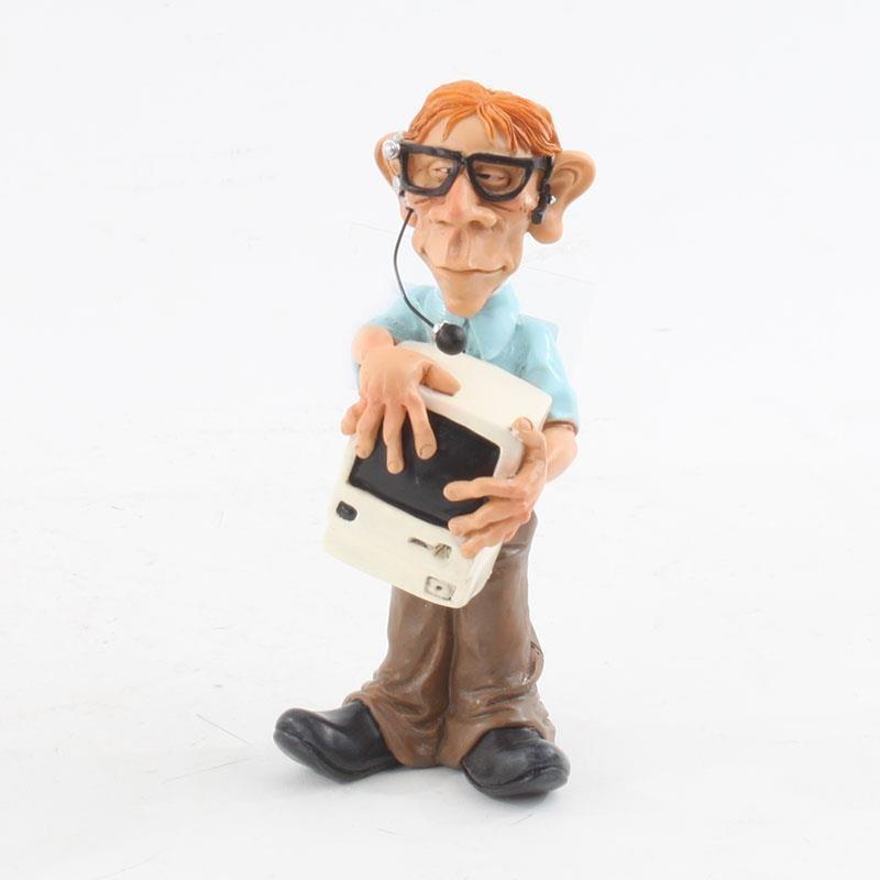Διακοσμητική Φιγούρα Άνδρας 'PC Nerd' Υ16