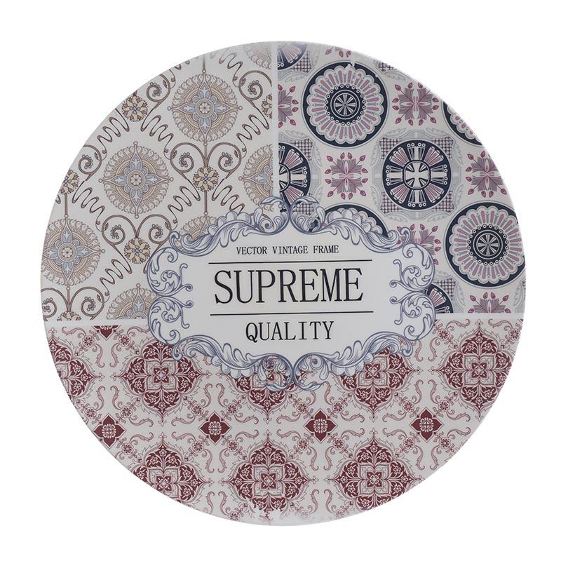 Διακοσμητική Πιατέλα Πολύχρωμη 'Supreme Quality' Δ33