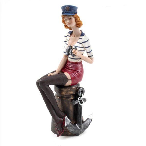 Γυναικεία Φιγούρα Κορίτσι Με Άγκυρα 'Pin Up Navy Girl' Y26