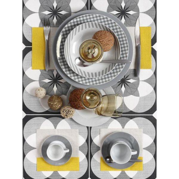 Σετ Πιάτων 20 Τεμαχίων Fino Grey