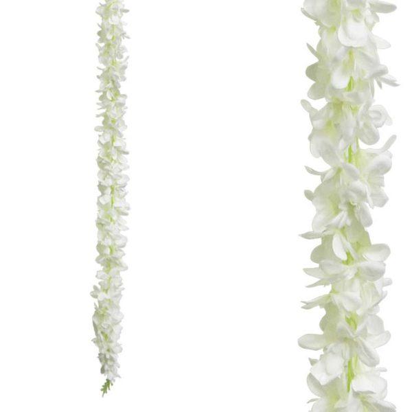 Τεχνητή Γιρλάντα Δελφίνιο Λευκό Y230