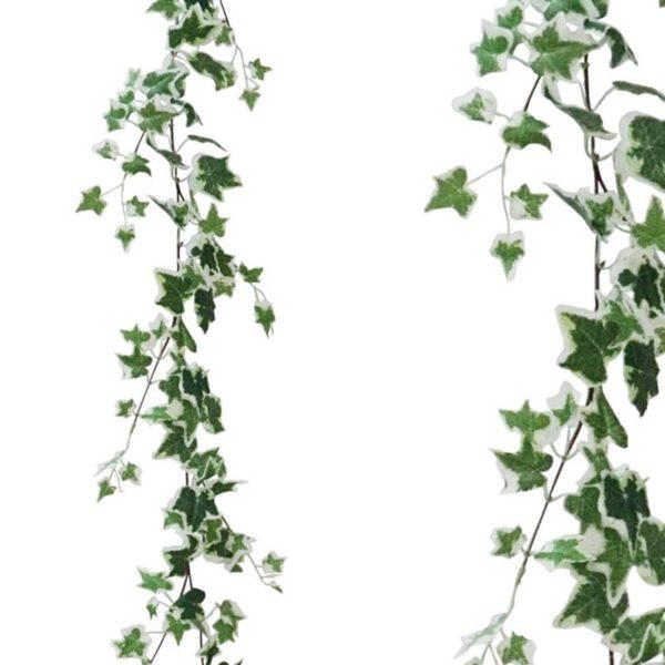 Τεχνητή Γιρλάντα Κισσός Δίχρωμος Πράσινο/ Λευκό Y170