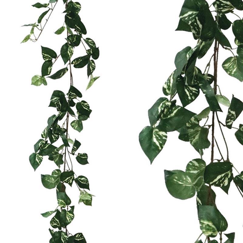 Τεχνητή Γιρλάντα Πόθος Δίχρωμος Πράσινο/ Λευκό Y170