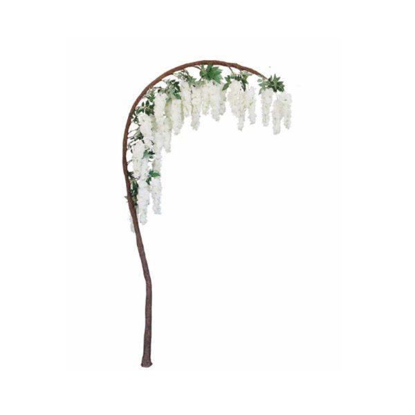 Τεχνητό Δέντρο Γλυσίνια Λευκή Υ230