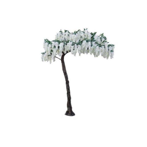 Τεχνητό Δέντρο Γλυσίνια Λευκή Υ320