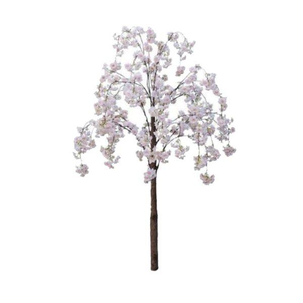 Τεχνητό Δέντρο Ροδακινιά Λευκό/ Ροζ Υ180