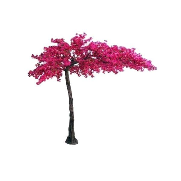 Τεχνητό Δέντρο Βουκαμβίλια Μωβ Υ320