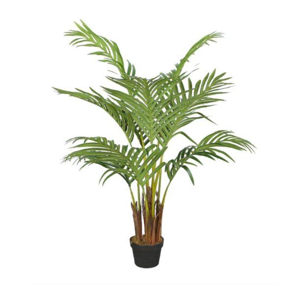 Τεχνητό Φυτό Αρέκα Πράσινη Σε Γλάστα Υ80