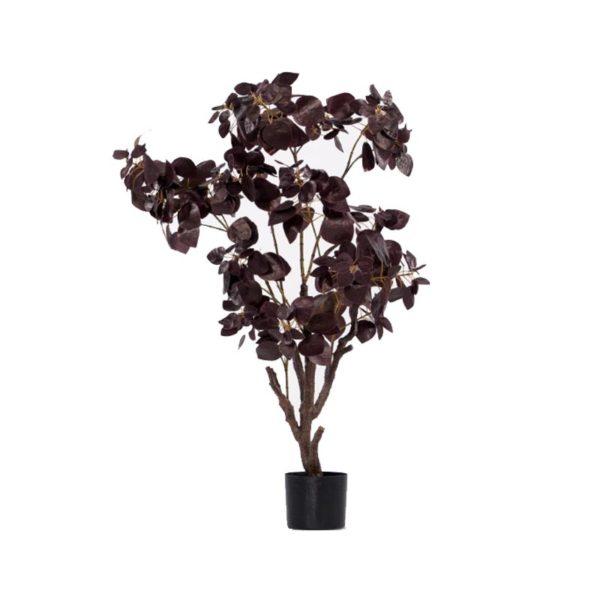 Τεχνητό Φυτό Φίκος Καφέ Σε Γλάστρα Υ138