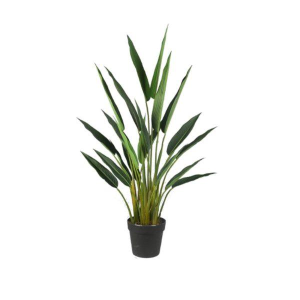 Τεχνητό Φυτό Πουλί Του Παραδείσου Σε Γλάστρα Υ100