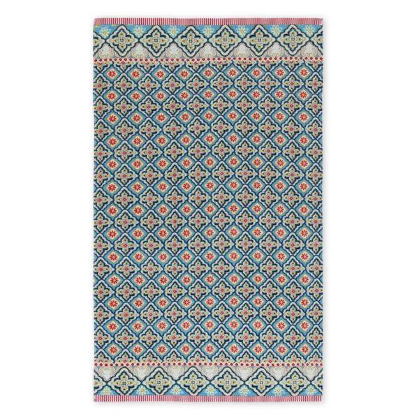 PIP Πετσέτα Θαλάσσης 'Star Check' Blue 100x180