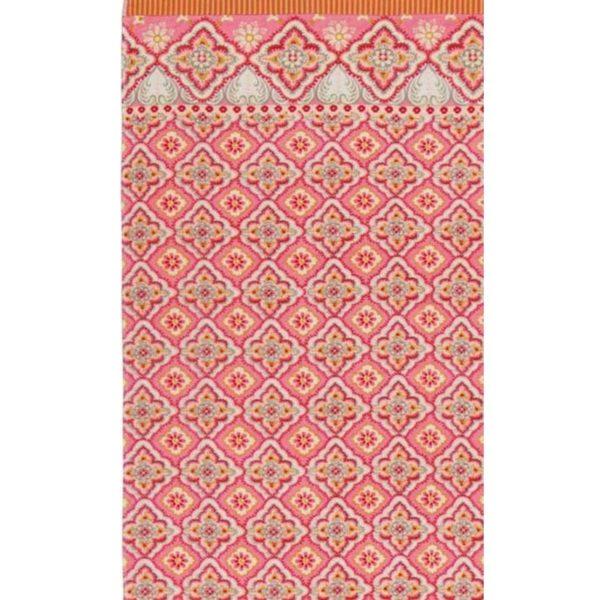 PIP Πετσέτα Θαλάσσης 'Star Check' Pink 100x180