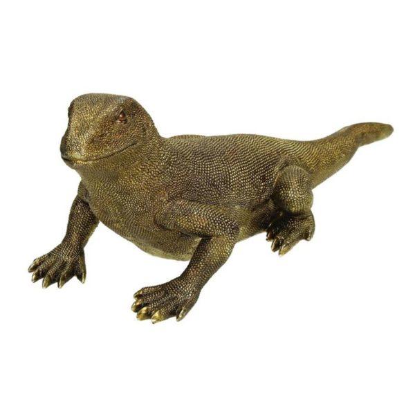 Επιτραπέζιο Διακομητικό Iguana Χρυσό Μ45 | ZAROS