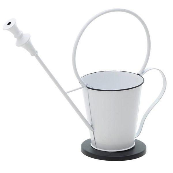 Κασπώ Μεταλλικό Λευκό 'Watering Pot' 42x15x35