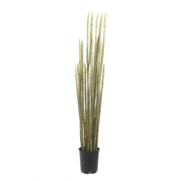 Τεχνητό Φυτό Πράσινο Σε Γλάστρα Υ122, Inart