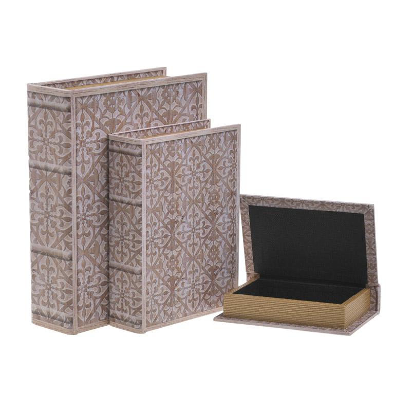 Κουτί/Βιβλίο Σετ Των 3