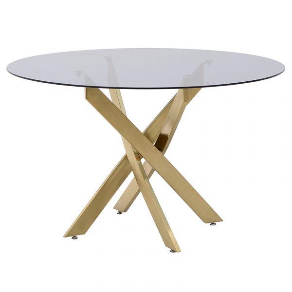Μεταλλικό/Γυάλινο Τραπέζι