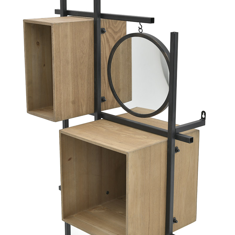 Ραφιέρα Με Καθρέπτη