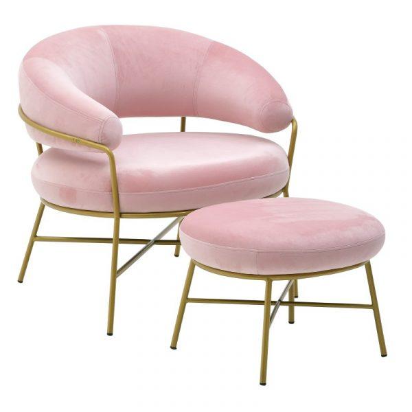 Σετ Πολυθρόνα Και Υποπόδιο