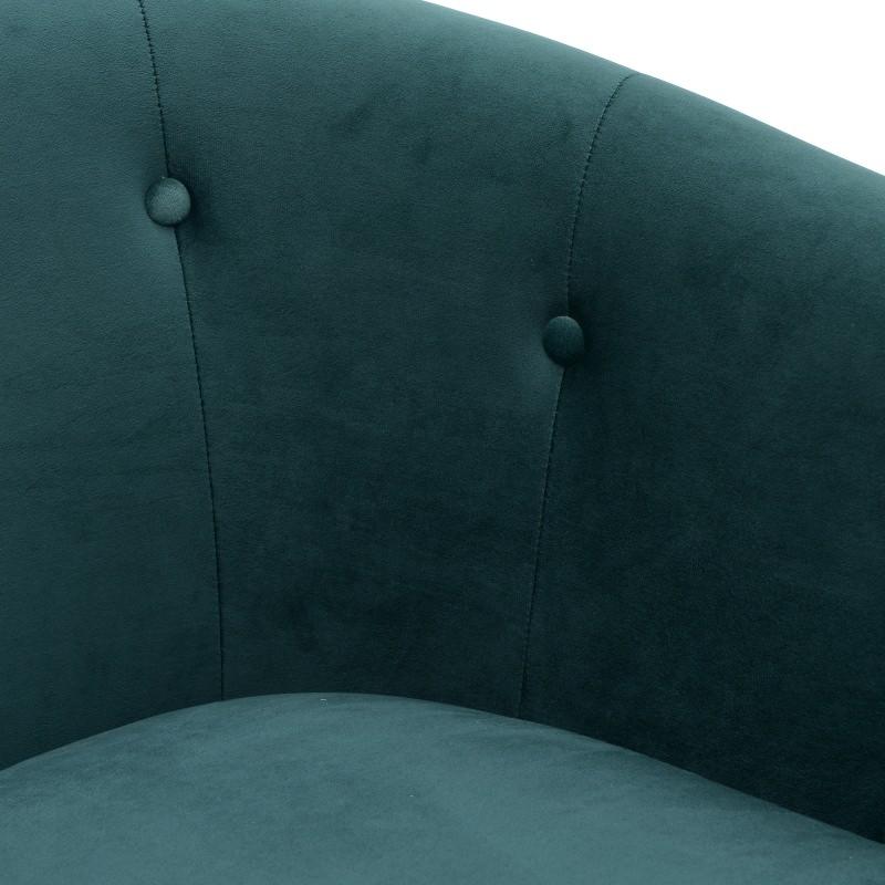 Βελούδινη Πολυθρόνα