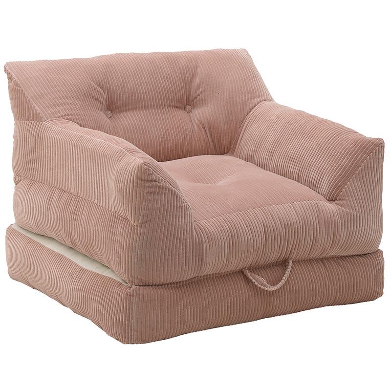 Βελούδινη Πολυθρόνα/Κρεβάτι
