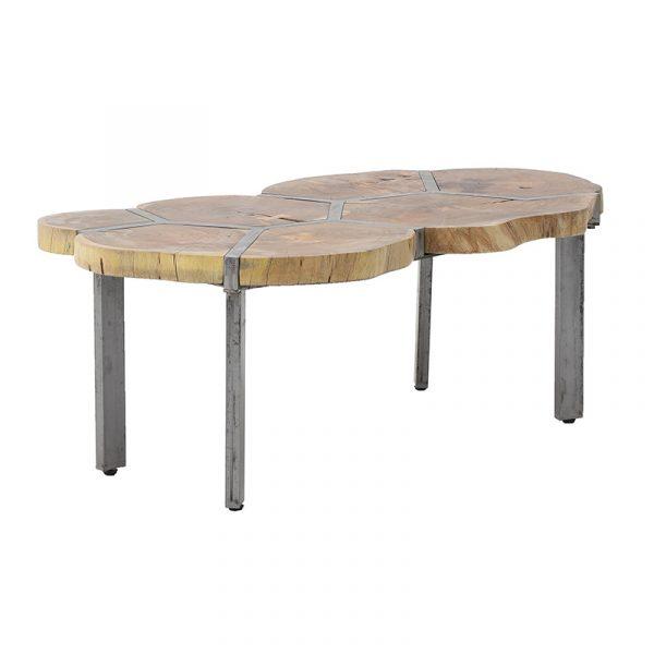 Ξύλινο/Mεταλλικό Τραπέζι