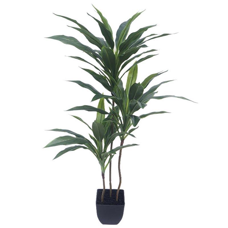 Τεχνητό Δέντρο Δράκαινα 3πλή Πράσινο Σε Γλάστρα Υ95