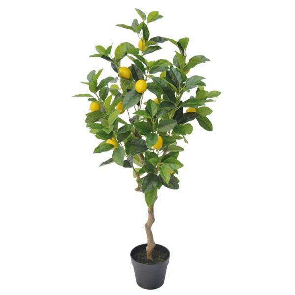 Τεχνητό Δέντρο Λεμονιά Πράσινο/ Κίτρινο Real Touch Σε Γλάστρα Υ100