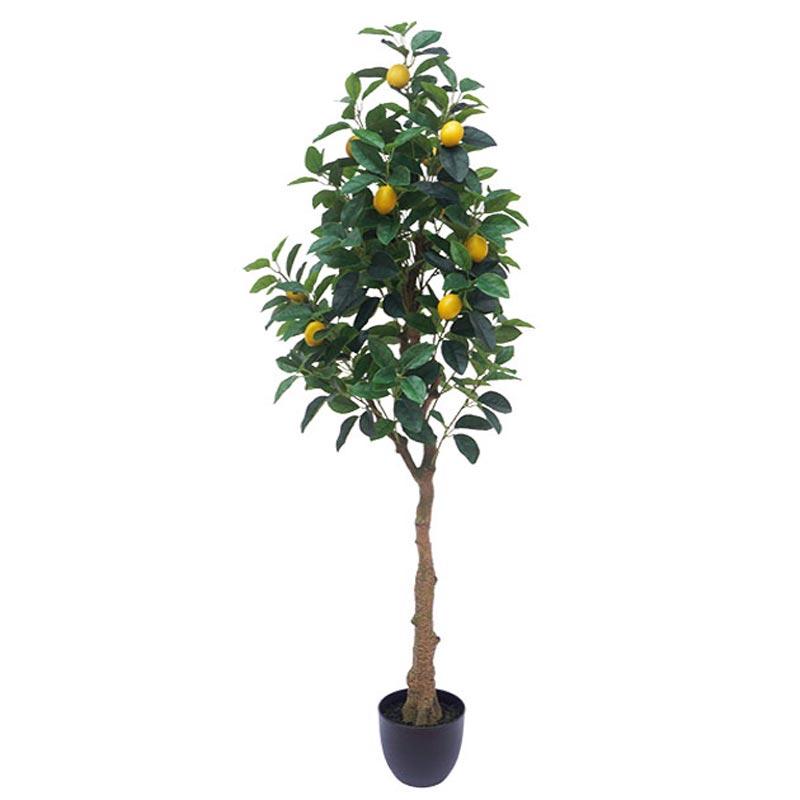Τεχνητό Δέντρο Λεμονιά Πράσινο/ Κίτρινο Real Touch Σε Γλάστρα Υ150