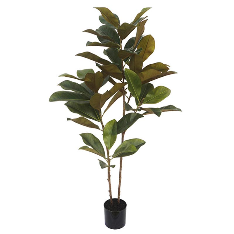 Τεχνητό Δέντρο Μανώλια Πράσινο Real Touch Σε Γλάστρα Υ120