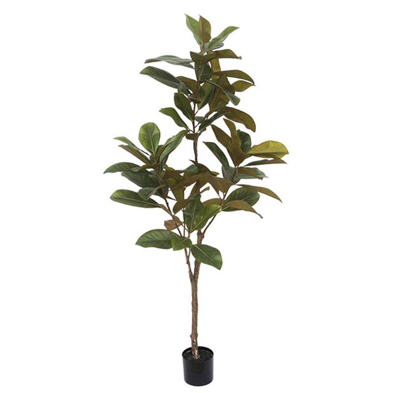 Τεχνητό Δέντρο Μανώλια Πράσινο Real Touch Σε Γλάστρα Υ180