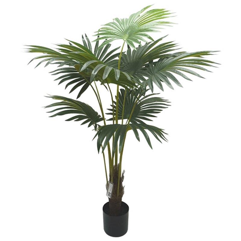 Τεχνητό Δέντρο Πάλμα 9φ Πράσινο Σε Γλάστρα Υ160