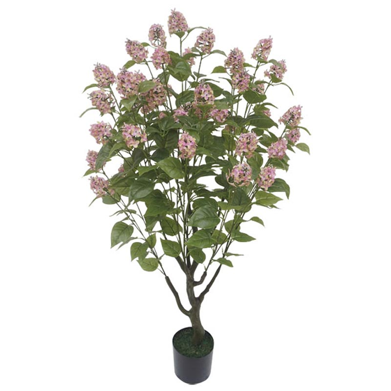 Τεχνητό Δέντρο Πασχαλιά Πράσινο/ Ροζ Σε Γλάστρα Υ138