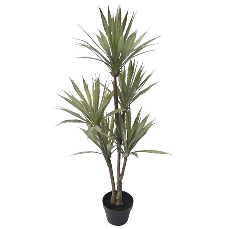Τεχνητό Δέντρο Σισάλ Πράσινο Σε Γλάστρα Υ120
