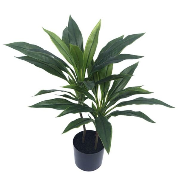 Τεχνητό Φυτό Δράκαινα Πράσινο Σε Γλάστρα Υ60
