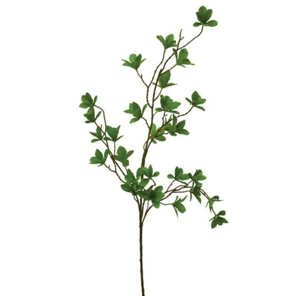 Διακοσμητικό Κλαδί Φυλλαράκια Πράσινο Υ110cm
