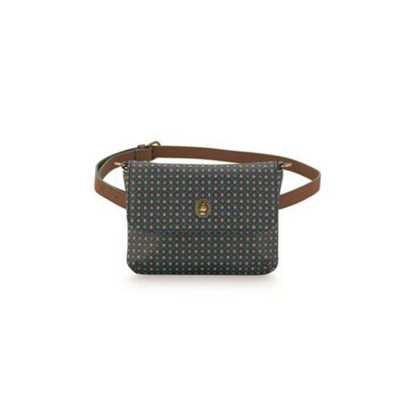 PIP Belt Bag 'Star Tile' Dark Blue 19x15.5x3.5cm
