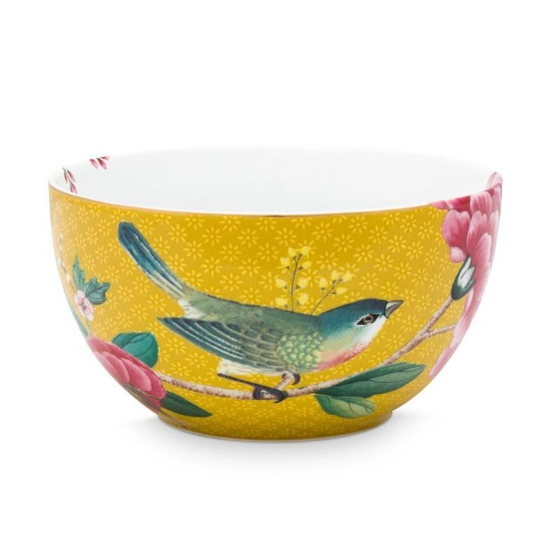 PIP Μπολ 'Blushing Birds' Κίτρινο Δ12