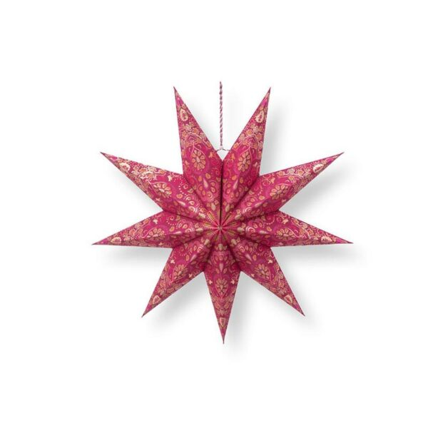 PIP Χριστουγεννιάτικο Αστέρι 'Poinsettia' Κόκκινο Δ60