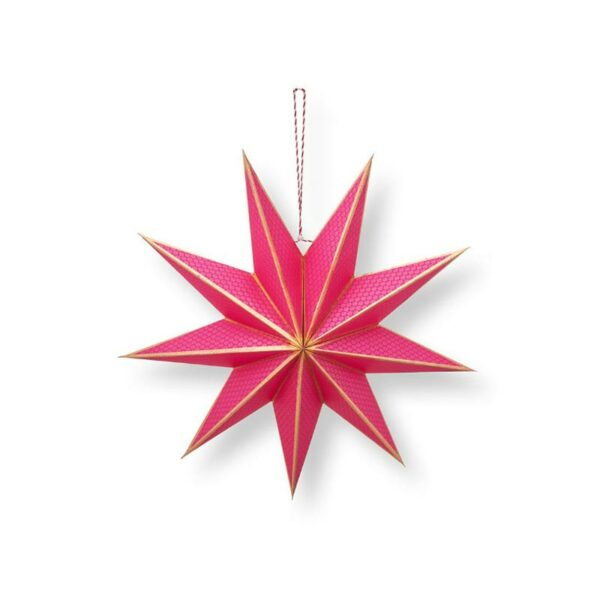 PIP Χριστουγεννιάτικο Αστέρι 'Poinsettia' Ροζ Δ60