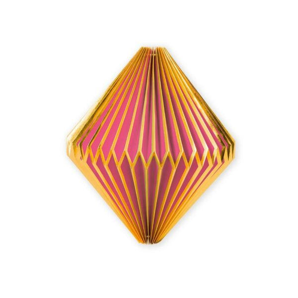 PIP Χριστουγεννιάτικο Στολίδι Ροζ/ Χρυσό