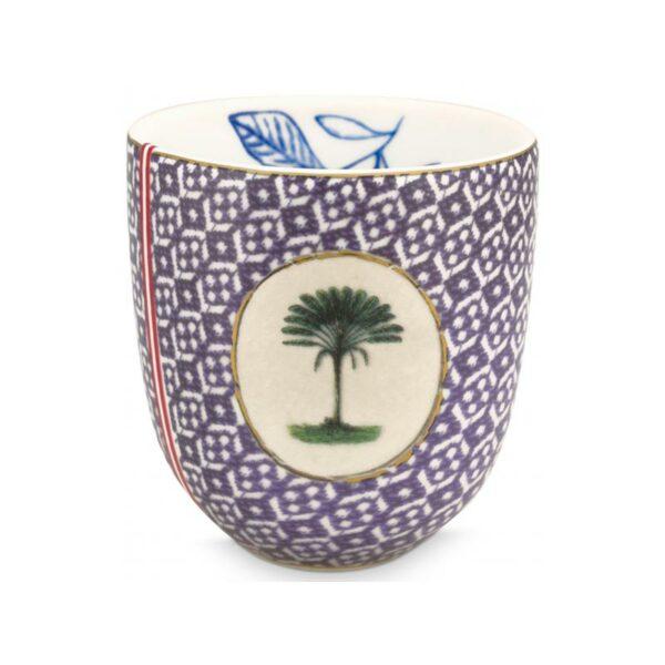 PIP Κούπα Espresso Χωρίς Χερούλι 'Heritage Tiles Blue' 100ml